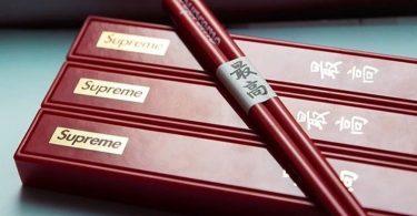 Supreme Chopsticks Set Red