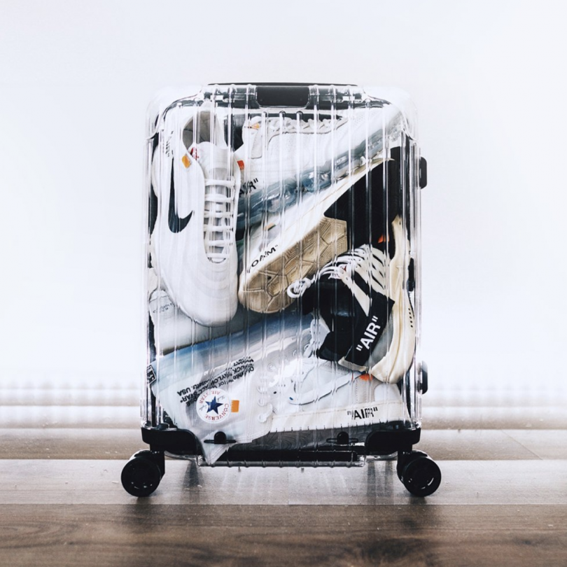 Off White Rimowa See Through Case Black