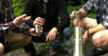Espresso-Style Camp Coffee Maker