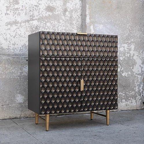 Black Modern Bar Cabinet