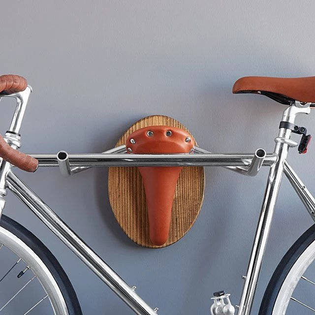 "Bike Rack Bicycle Taxidermy ""The Longhorn"""