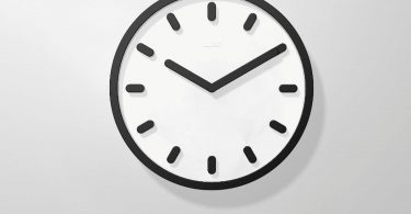 Tempo Wall Clock (Black) – Magis