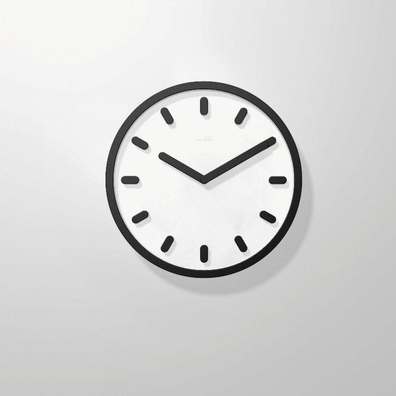 Tempo Wall Clock (Black) – Magis