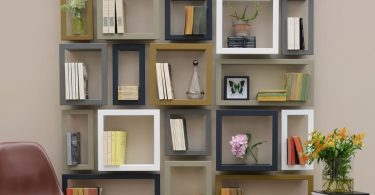 Framed Wall Stick Shelves by Presse Citron