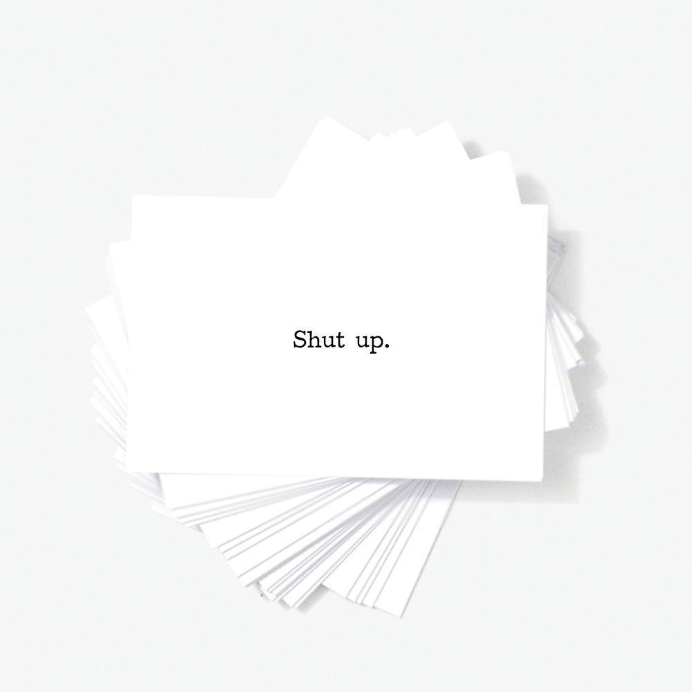 Funny Sarcastic Humor Quote Mini Insult Cards