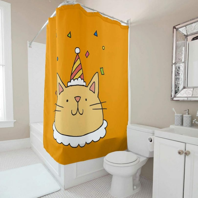 FHU88 Animal Shower Curtain