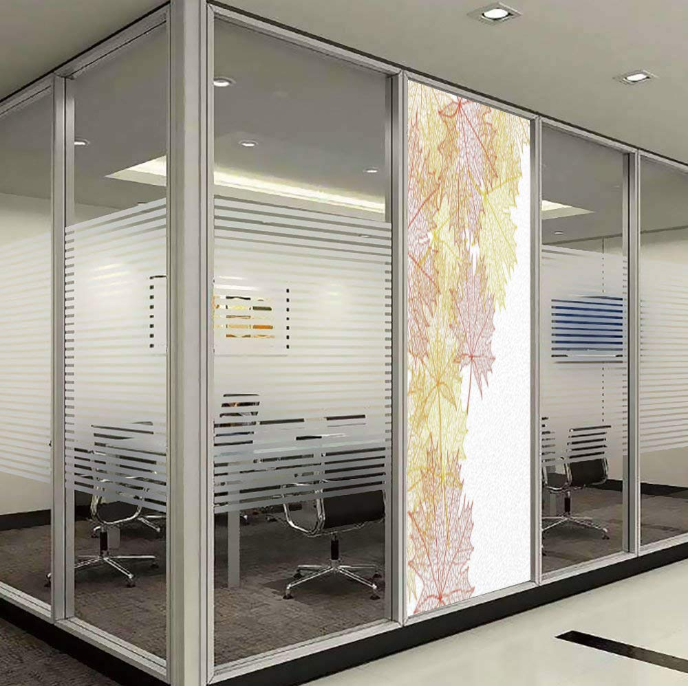 LUONI Static Cling Decorative Window Film