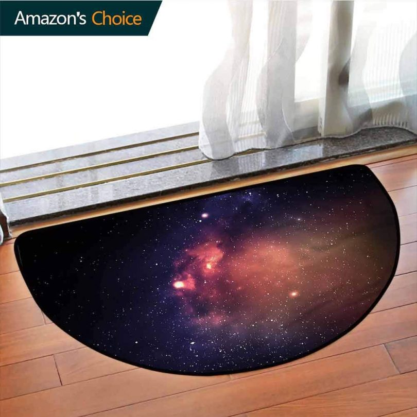 Star Semi-circular Living Room Rug