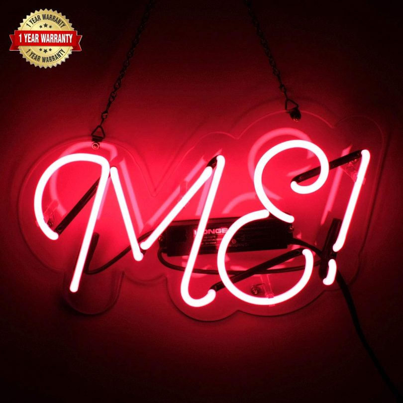 Neon Signs ME Shaped Handmade