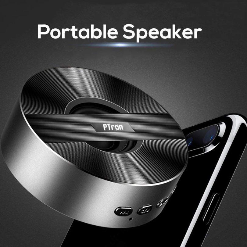 PTron Music Bot BT Mini Portable Wireless Bluetooth Speaker for All Mobiles
