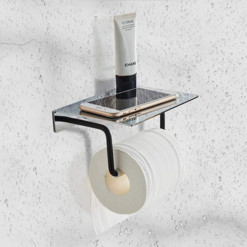 FORIOUS Toilet Paper Holder Wall Mount