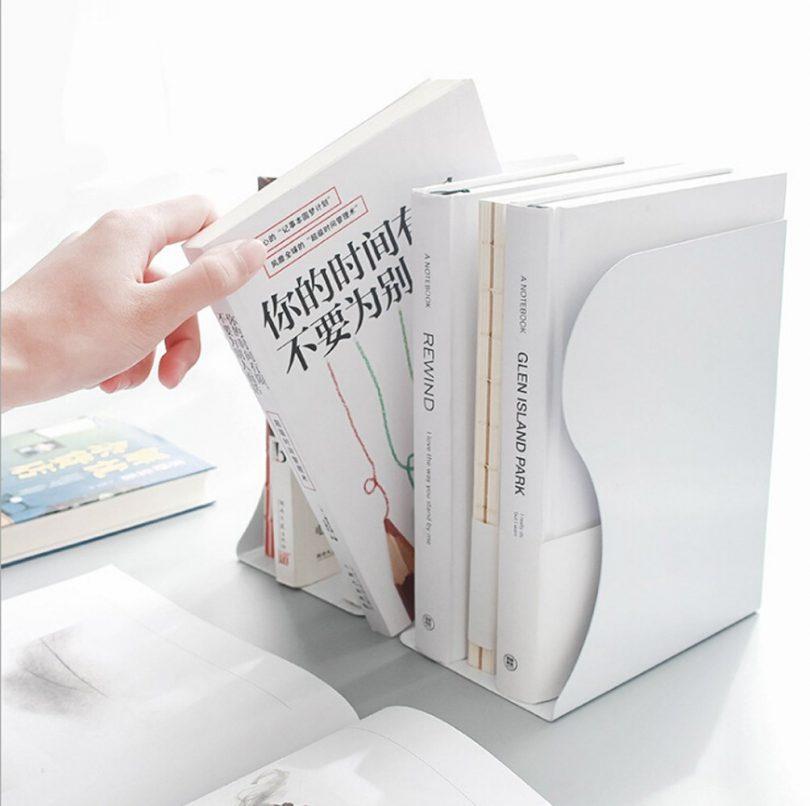 Desktop Adjustable Metal Bookends