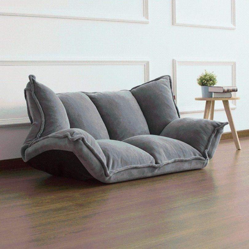 Modern Floor Reclining Japanese Futon Sofa Bed