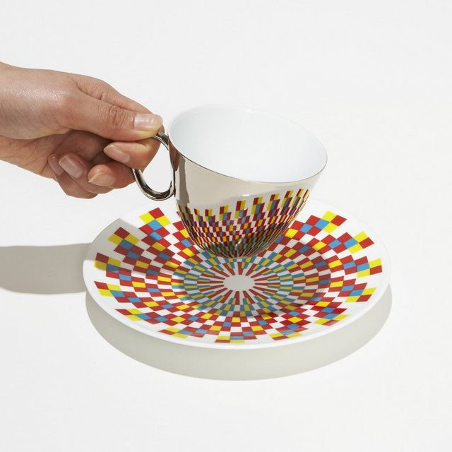 Mirror Cup & Saucer