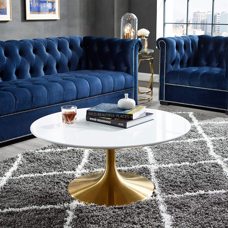 Decorific NYC Tulip Frame Coffee Table