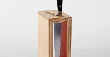 Olith Cadmium Red Knife Rack