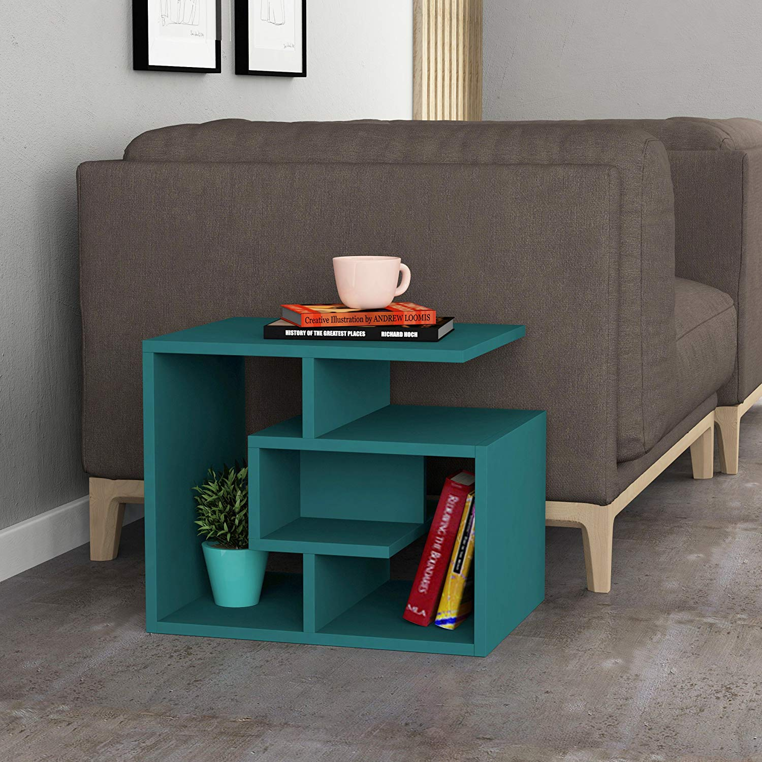 Ada Home Décor DCRS2018 Briscoe Side Table