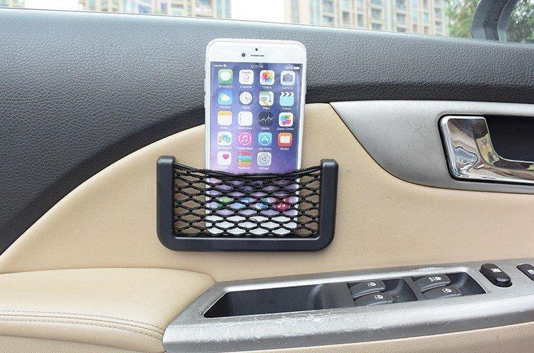 Car Storage Net Pocket Organizer
