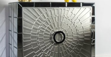La Croisette Mirrored Cabinet