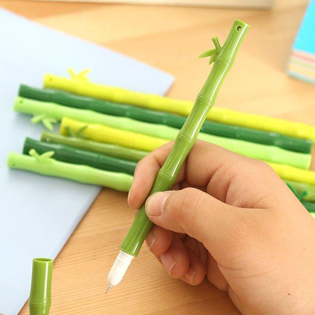 Green Bamboo Gel Pen