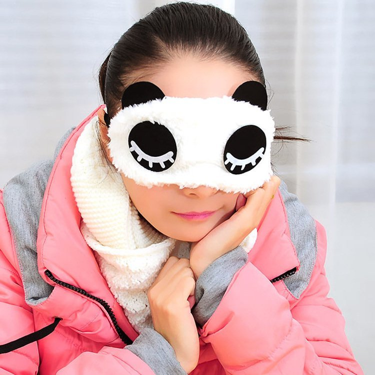 Panda Sleeping Eye Mask Cover