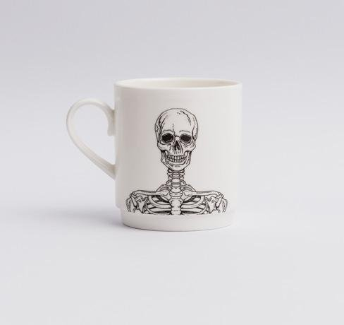 Joe: Stacking Skeleton Mugs