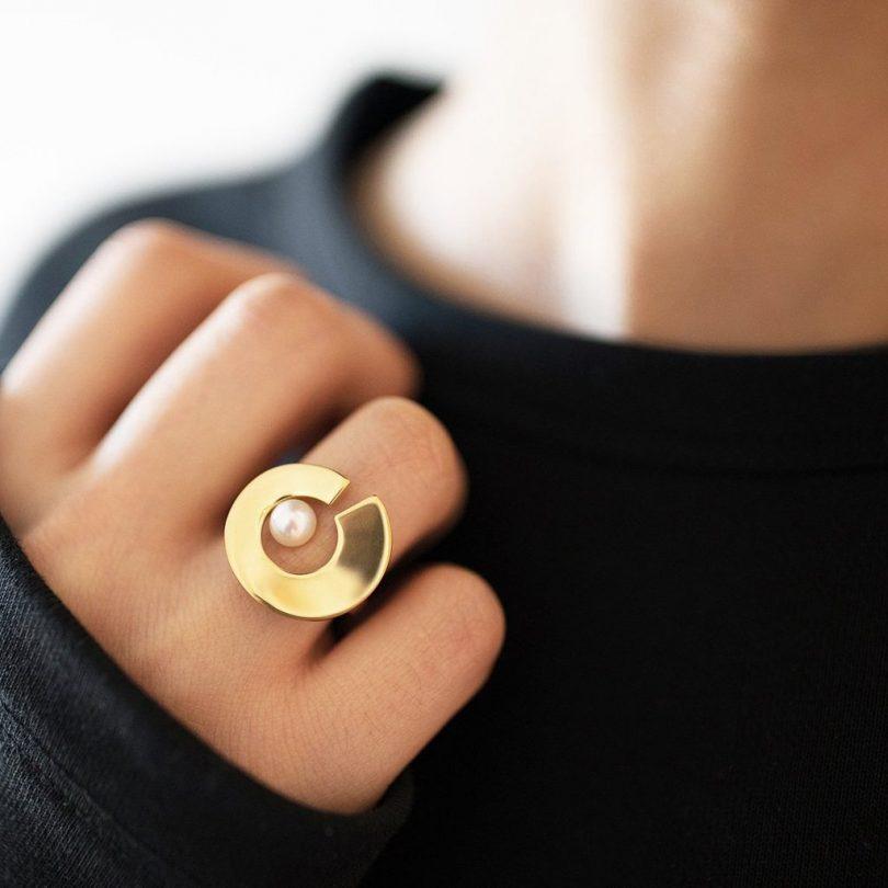 Onda Ring Gold
