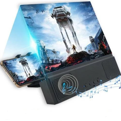 HD Phone Screen Expander with Speaker