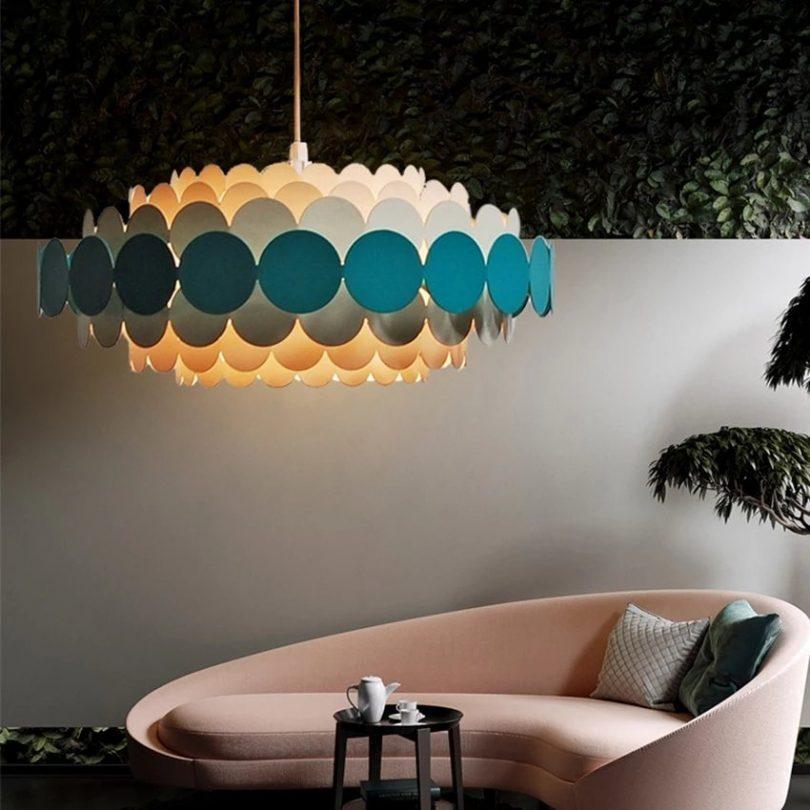 Modern Creative Flower Hanging Lamp