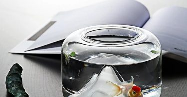 Creative Transparent Snow Mountain Fish Aquariums