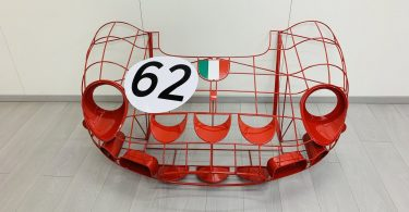 Ferrari 250 GTO Wireframe Model