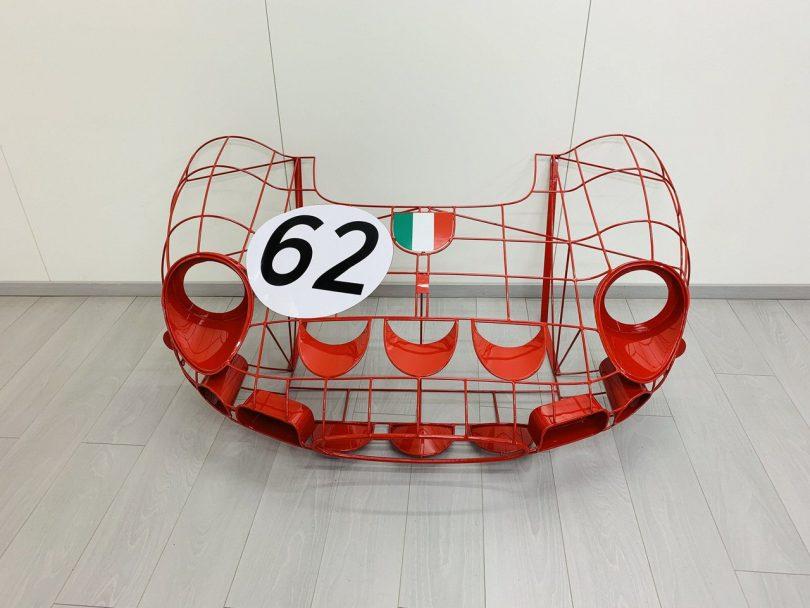 Ferrari 250 GTO Wireframe Model