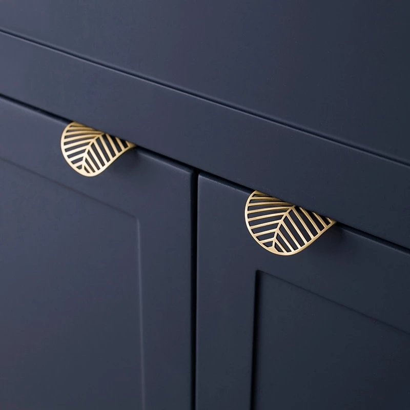 Smart Leaf shape European Cabinet Handles