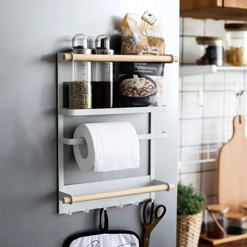 Magnetic Smart Kitchen Rack Organizer