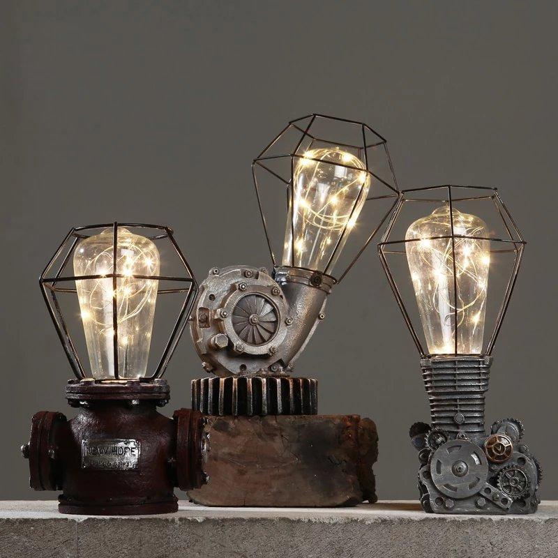 Vintage European Table Lamps