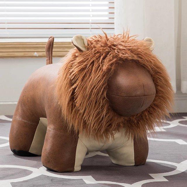 Creative Lion Deer Stool