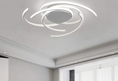 LED Bedroom Light Modern Chic Design Flush Mount Ceiling Lamp