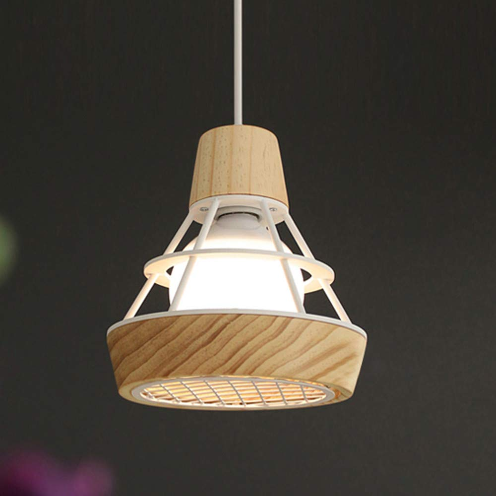 XINDA Pendant Light Industrial Ceiling Light with Diamond Shape Cage