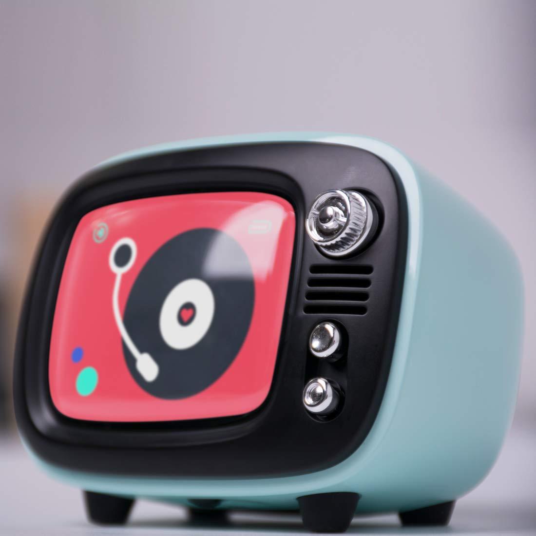 LOFREE QTV Bluetooth Wireless Speaker Vintage Speaker