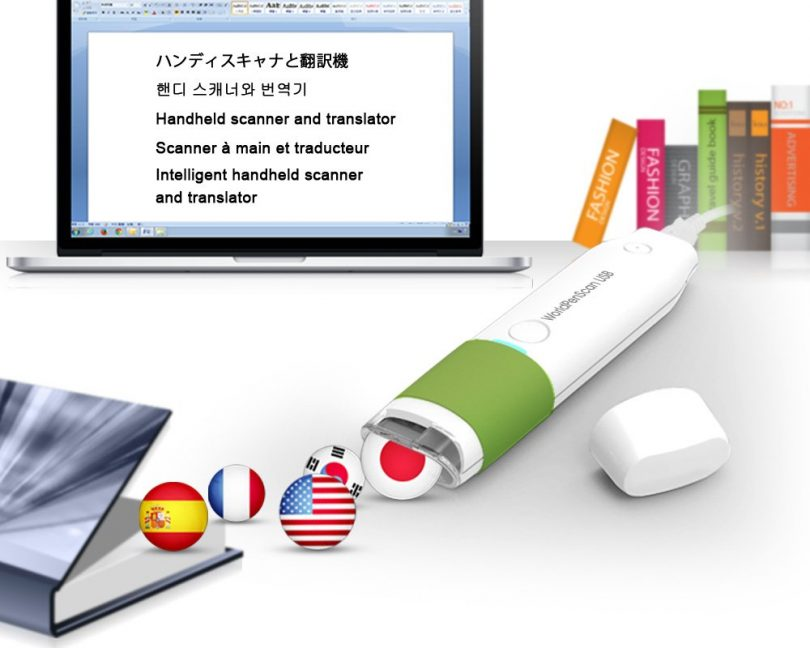 Penpower SWPSUB01EU Pen Scanner and Translator for Windows PC and Mac