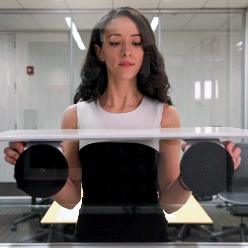 DeskView Portable Standing Desk