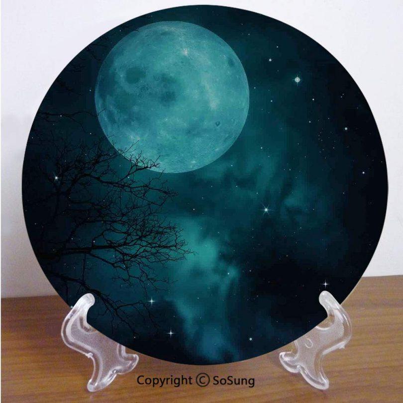 Space 7″ Ceramic Decorative Plate