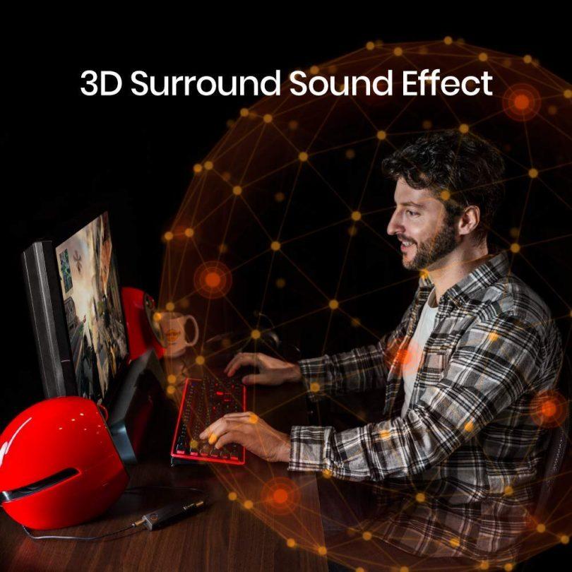 XPUMP Premium – 3D Audio External Sound Card