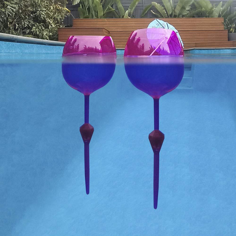 Floating Wine Glass Tumbler Set