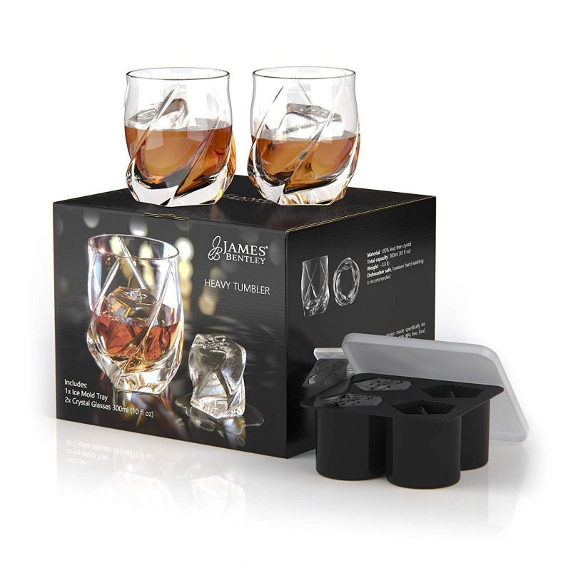 James Bentley VRIDE Scotch Glasses