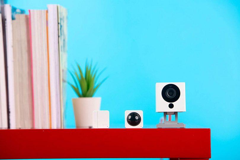 Wyze Cam V2 1080P Indoor Smart Home Camera with Wyze Sense Starter Kit