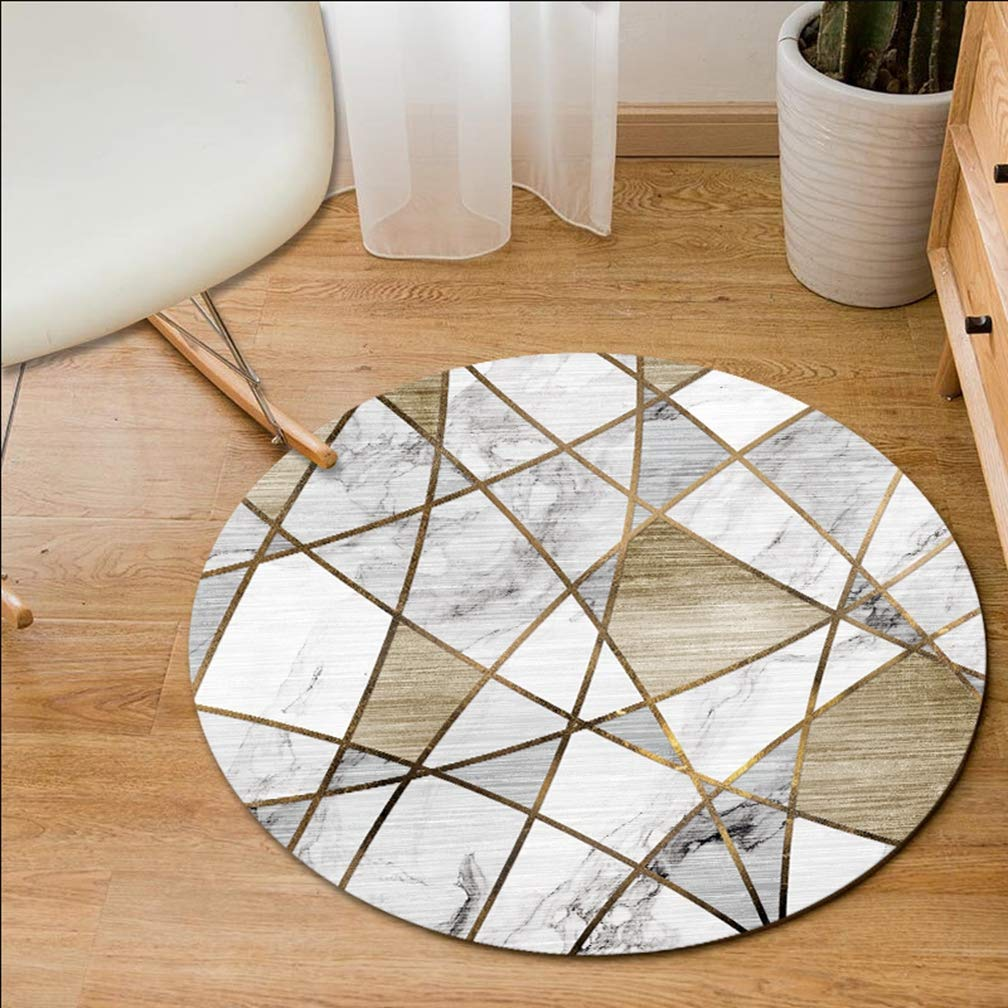 MOXIC Geometric Round Area Rug