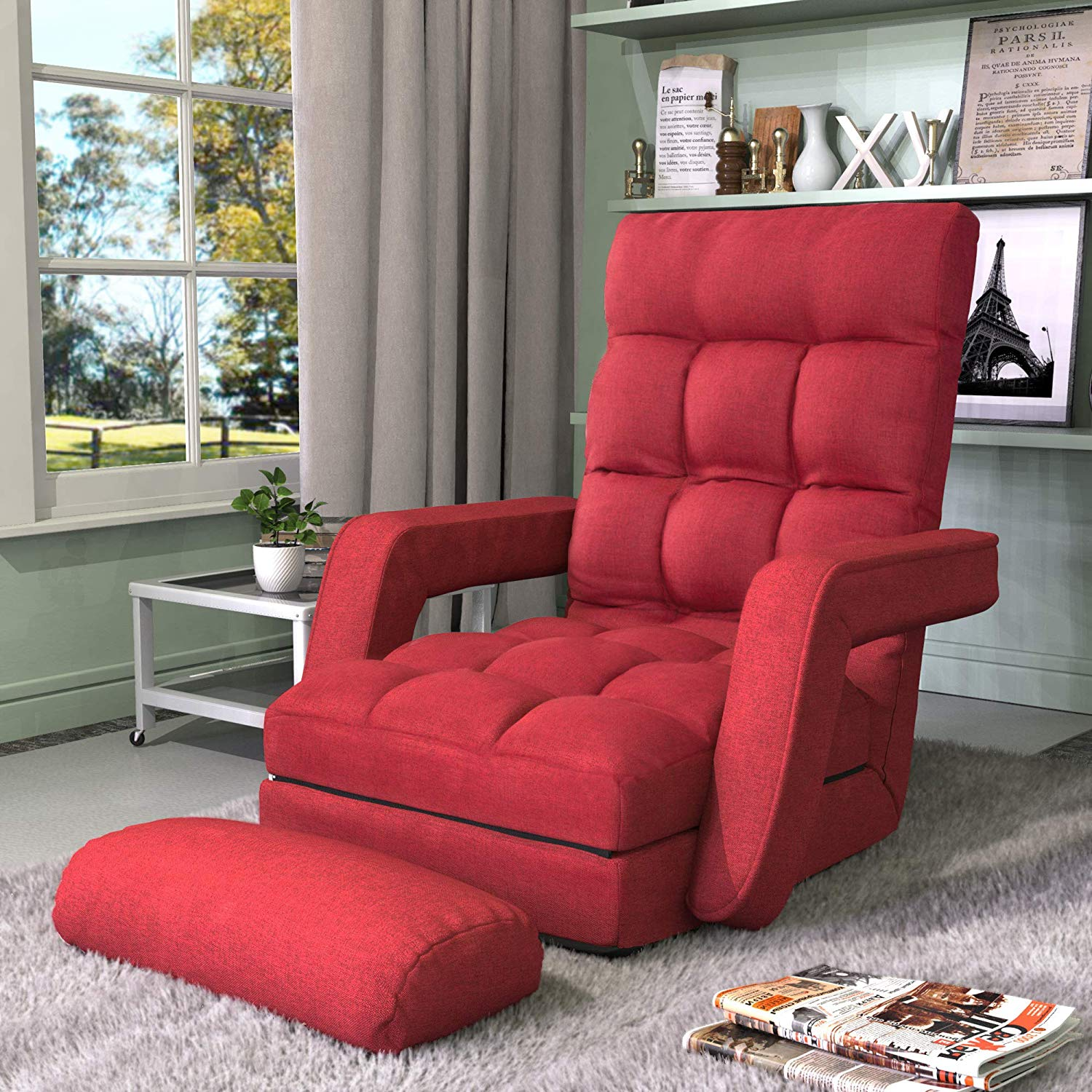 Merax Folding Lazy Floor Chair Sofa