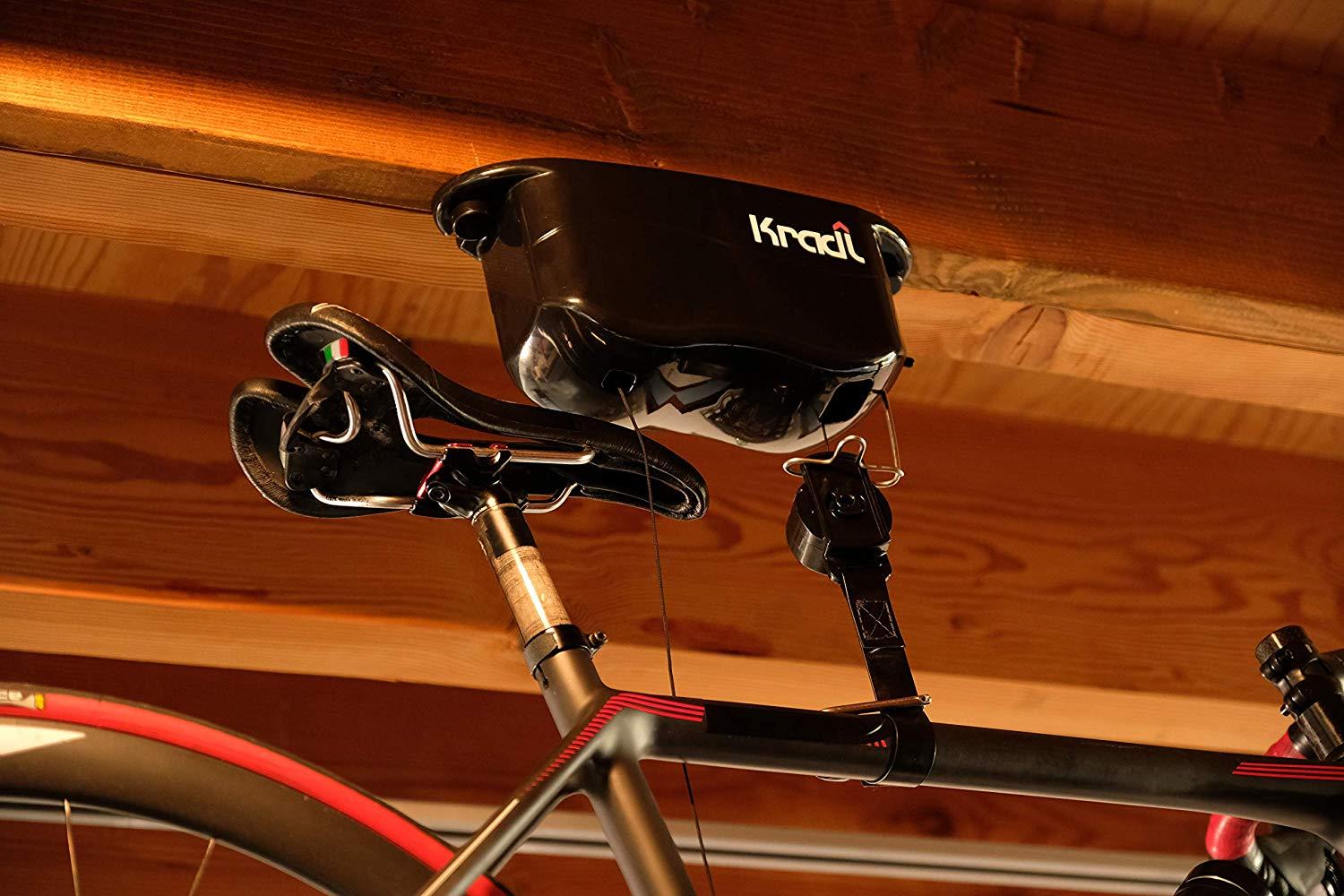 Kradl – Ceiling Mount Bike Rack