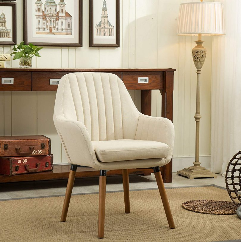 Roundhill Furniture AC151TA Tuchico Contemporary Fabric Accent Chair